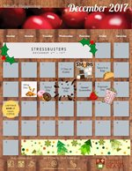 December Residential Dining Calendar